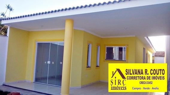 Casa Na Praia Em Itaipuaçu- 3 Qts R$ 380 Mil - 100