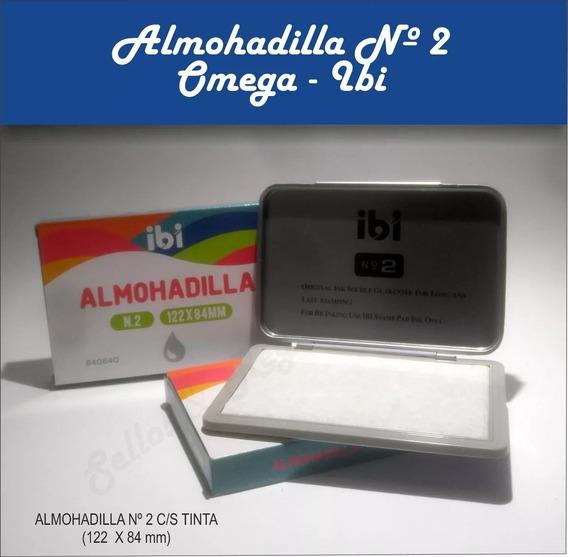 Almohadilla N° 2 Con / Sin Tinta 122x84 Mm X 12 Und -sellos