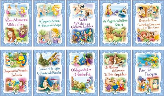 Livro Infantil Histórias Encantadas 2em1 C/10 Unidades