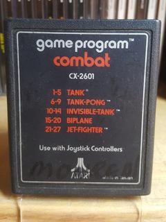 Combat (game Program) Para Atari 2600 !juego Super Clásico!