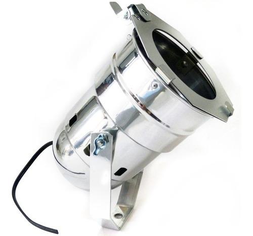 Kit Com 20 Unidades Canhão Refletor Par 38 C/ Porta-gelatina