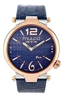Mulco Couture Slim Mw5-3183-044 Cuero Reloj Hombre