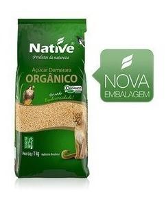 12kg Açúcar Demerara Orgânico Native Sem Juros Frete Grátis