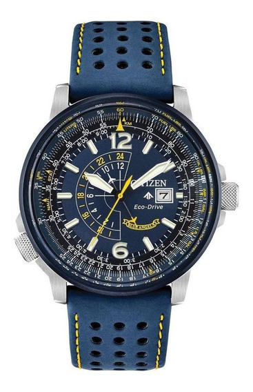 Citizen Blue Angels Promaster Nighthawk Eco-drive Bj7007-02l