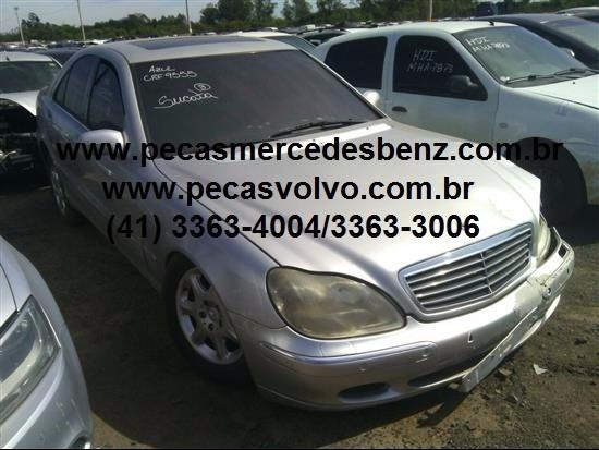 Mercedes S500 Sucata Peças Motor / Cambio / Lanterna