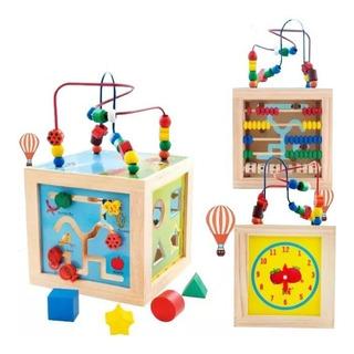 Juguetes De Madera Niños/bebes Didactico Multifuncional