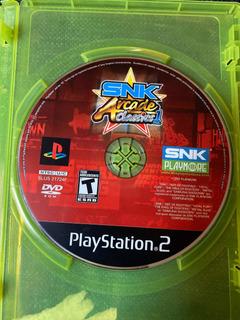 Snk Arcade Classics Volumen 1 Playstation 2 Ps2 Neo Geo