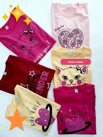 Camiseta Manga Larga Nena, Algodon