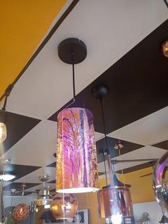 Luminario Decorativo Para Suspender Efecto 3d Copa E26 57069
