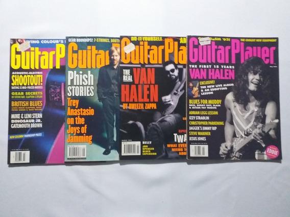 Guitar Player Usa Lote 4 Revistas Van Halen