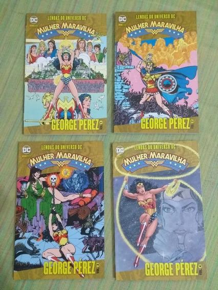 Lendas Do Universo Dc: Mulher-maravilha (1-4) Frete Grátis
