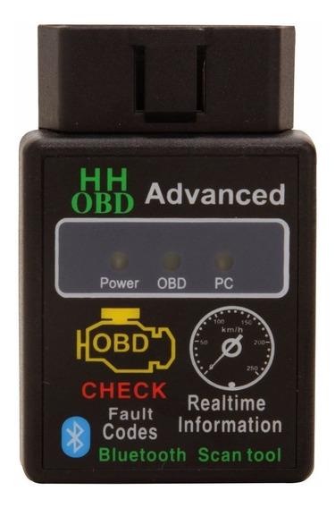 Scanner Diagnostico Au Bluetooth 2.1 Odb2 Obdii Fiat Gm Ford