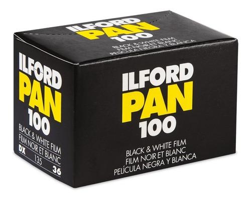 Imagen 1 de 2 de Rollo Ilford Blanco Y Negro Pan 100 Asa - 135mm (942)