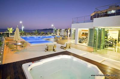 Apartamento Mobiliado Frente Mar Em Meia Praia