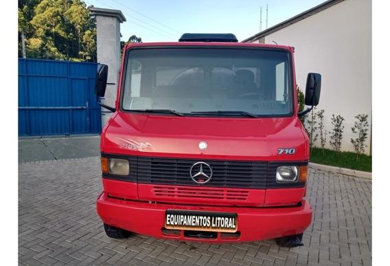 Mercedes-benz 710 Tanque Inox Caminhão Pipa 4 Mil Litros