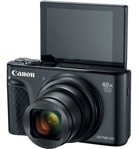 Câmera Canon Powershot Sx740 Hs 20.3mp 4k - 2 Anos Garantia