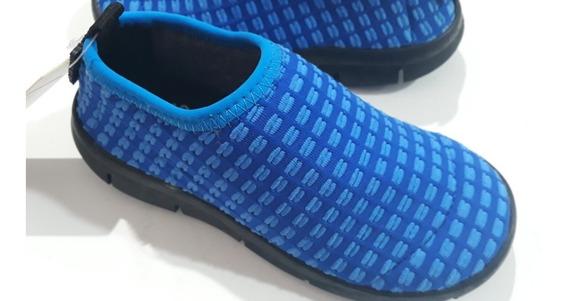 Diez Indiecitos Elastizadas Azul Livianas Panchas Ergonómico