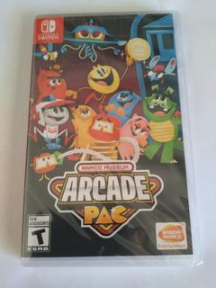 Namco Museum Arcade Pac Nintendo Switch Nuevo Sellado