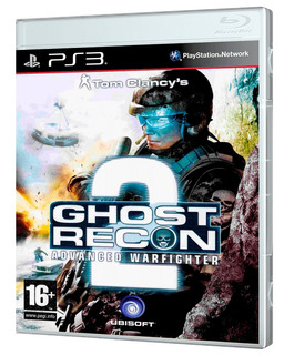 Juego Ps3 Ghost Recon Advanced Warfighter 2 Ps3