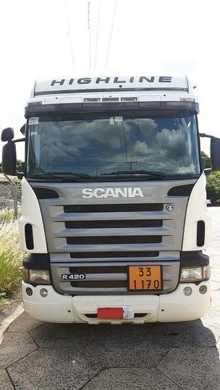 Scania Highline R 420 6x2 Unico Dono Sem Detalhes 2008