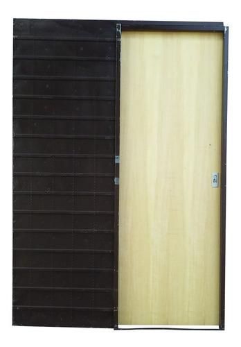 Puerta Corrediza Guatambu Chapa 18 70x200x10
