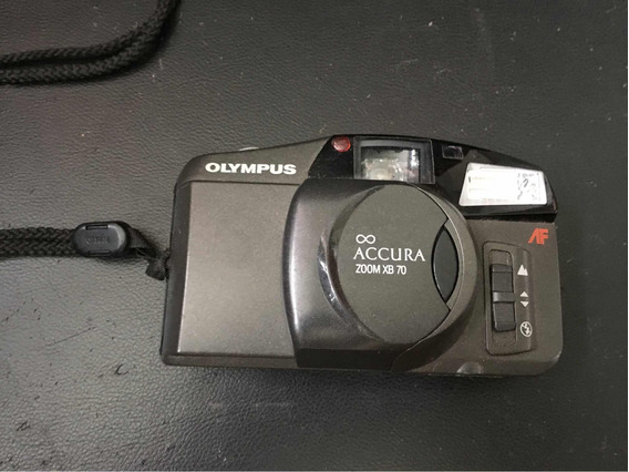 Maquina Fotográfica Olympus Accura Zoom Cb700 Analogica