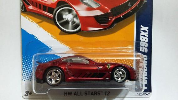 Hot Wheels Ferrari 599xx Super T-hunt Super Th 2012