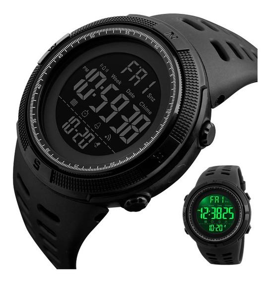 Relógio Masculino Esportivo Digital Prova D Água Skmei 1251