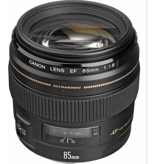 Lente Ef Canon 85mm F1/8 Usm