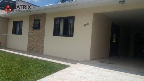 Imagem 1 de 18 de Casa Com 3 Dormitórios À Venda, 140 M² Por R$ 530.000,00 - Vila Amélia - Pinhais/pr - Ca1488