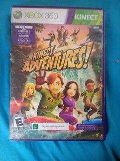 Kinect Adventures, Con Manual En: Español, Ingles Y Portuges