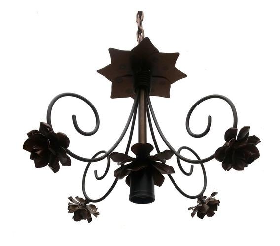 Luminaria De Flores Ornamental Moderna Para Decoração Quarto