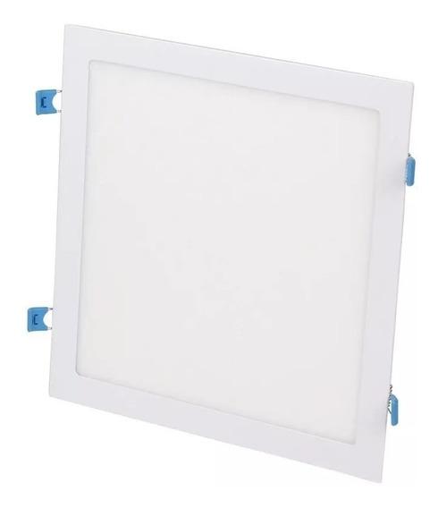 Kit 4 Plafon Embutir Quadrado Led 25w Painel Bivolt 30x30