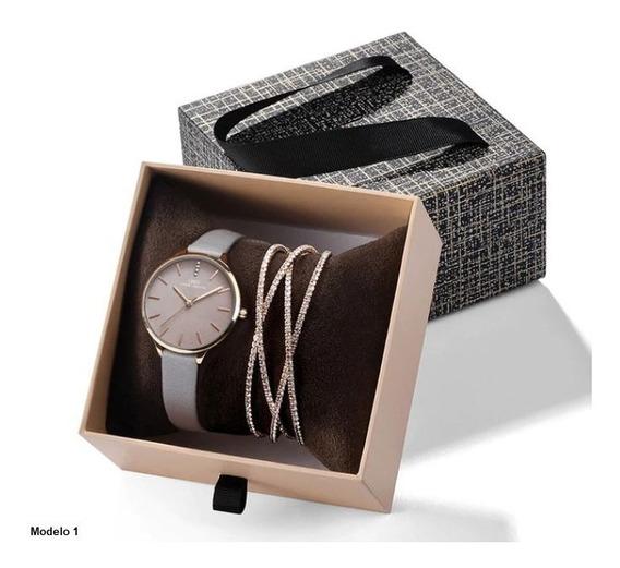Set Regalo San Valentin Para Dama Reloj + Pulsera