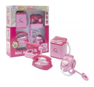 Juego Mini Electrodomésticos De Limpieza Fun Fun Home Tk193