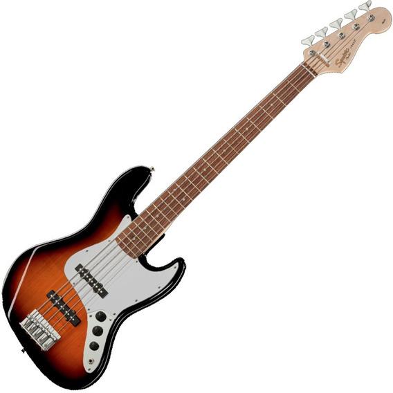 Contra Baixo Fender Jazz Bass Squier 5 Cordas Affinity V Sb