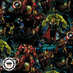 Película Pintura Hidrográfica Wtp - Vingadores - Heróis