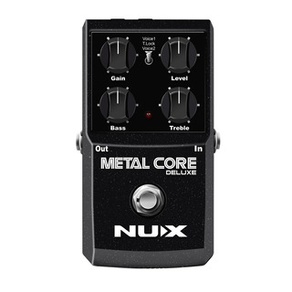 Pedal Para Guitarra Nux Deluxe Metal Core