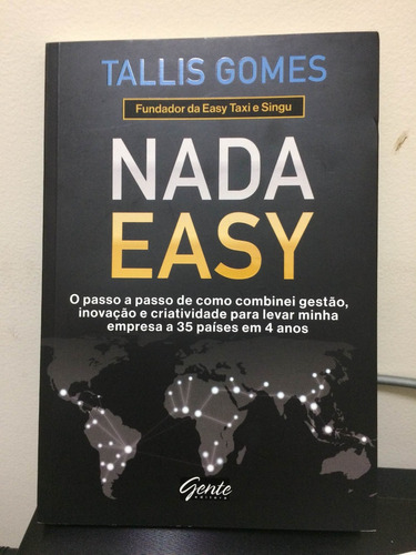 Imagem 1 de 1 de Livro Nada Easy Promoção!