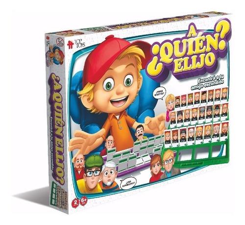 A Quien Elijo Quien Es Quien Grande Original Top Toys Full