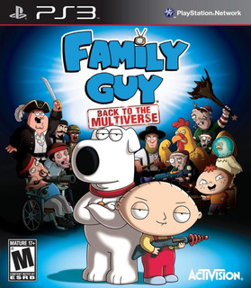 Family Guy: Back To The Multiverse Playstation 3 Fisico