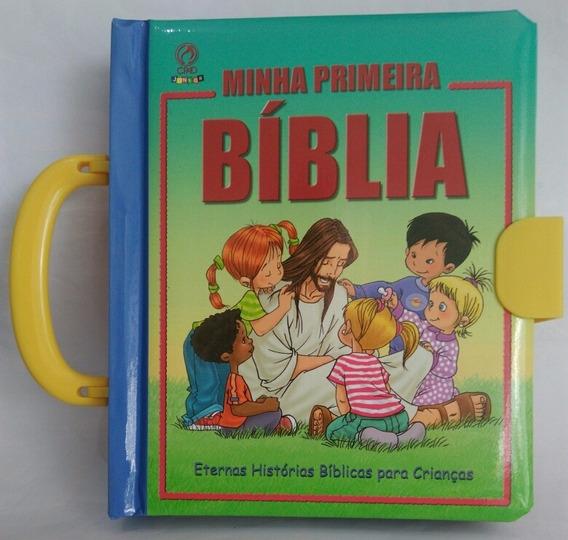 Bíblia Infantil Minha Primeira Bíblia Capa Com Alça Cpad