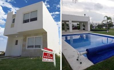 Preciosa Casa En Paseos Del Bosque, 3 Recamaras, Alberca..
