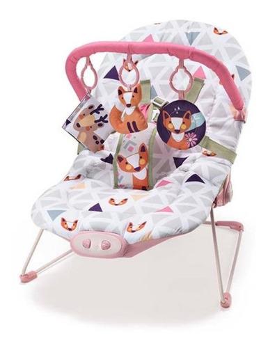 Cadeira De Descanso Para Bebês 0-15 Kg Rosa Weego - 4027
