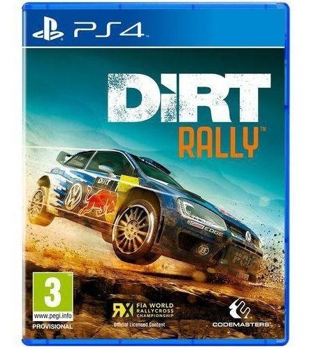 Dirt Rally Ps4 Mídia Física
