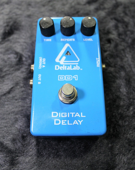 Pedal Guitarra Delay Delta Lab Dd1