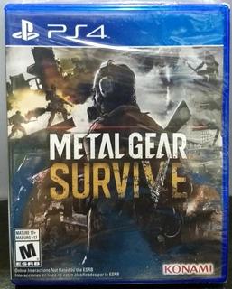 Metal Gear Survive.-ps4