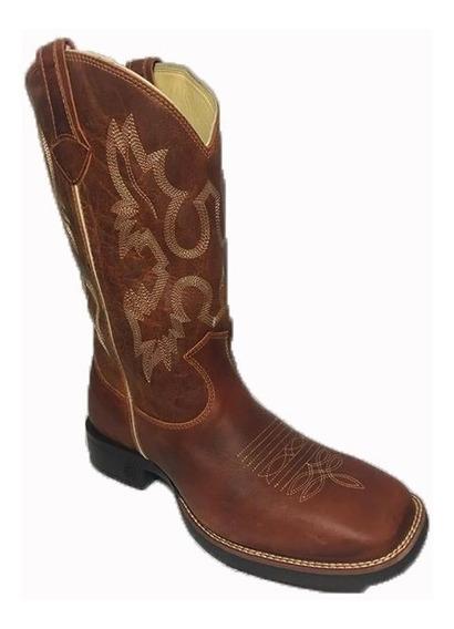 Bota Texana Country Bico Quadrado Classic Original - Oferta!