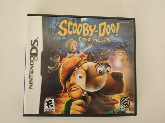 Scooby-doo! First Frights Nintendo Ds Nds 3ds 2ds Completo