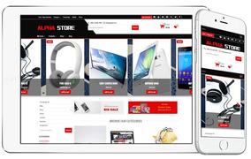 Tema Premium Wordpress Loja Virtual Ecommerce - Alpha Store